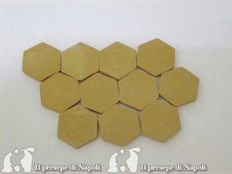 Pavimento esagonale conf 50 pezzi (piccolo)