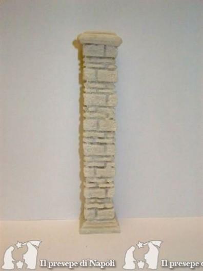 Pilastro grande di resina H cm 18