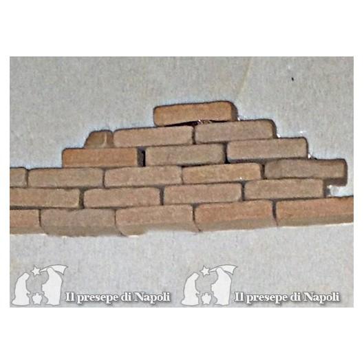 Mattoni di terracotta conf 20 pezzi (medi)