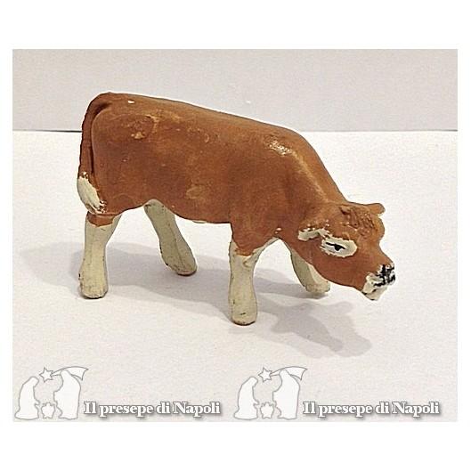 mucca testa abbassata per pastori cm 4