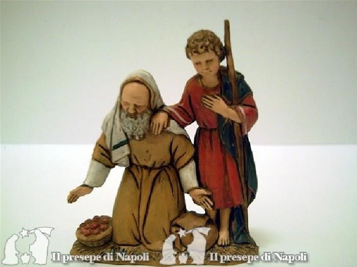 Vecchio con bambino