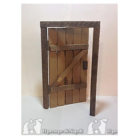 portone di legno