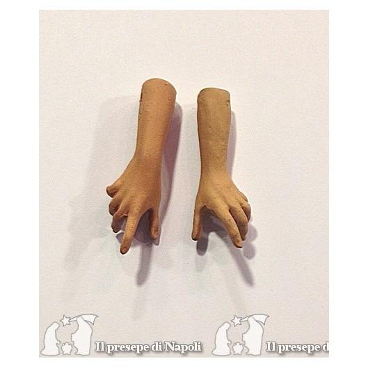 mani grezze uomo