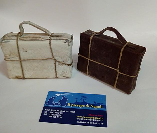 valigia in pelle ( vari colori)