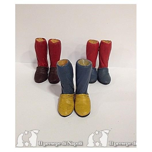 piedi con zoccolo colorato