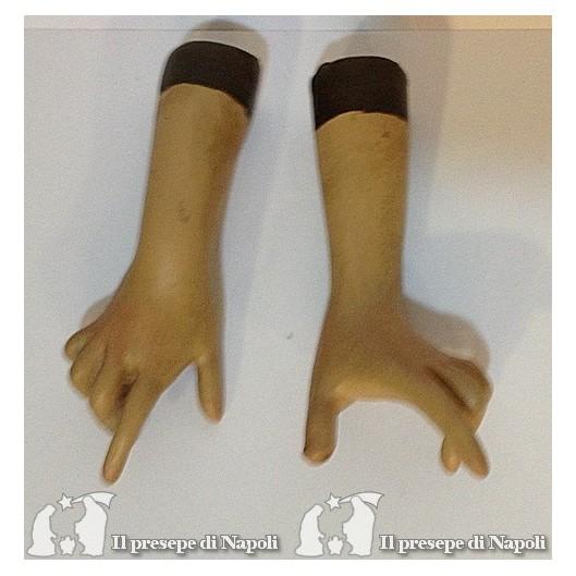 Mani donna dipinte