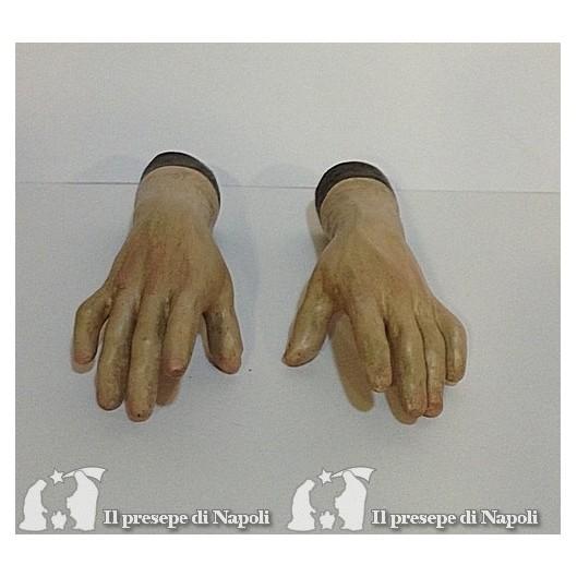 Mani uomini dipinte