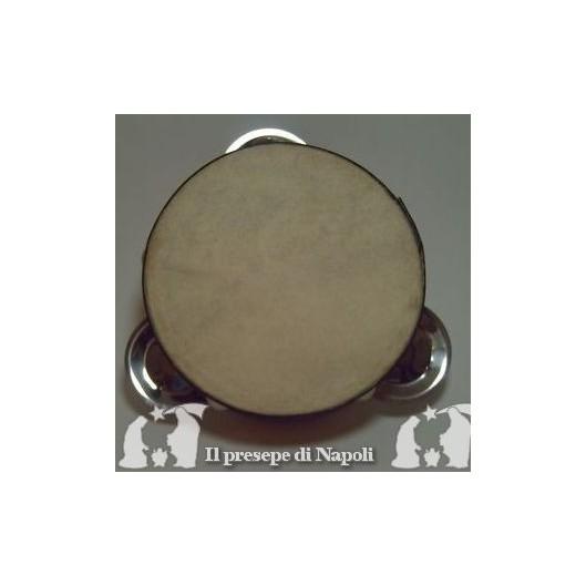 tamburella napoletana non dipinta dm cm 12 circa