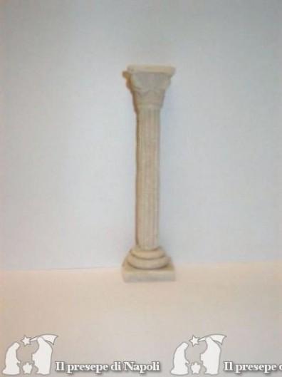 Colonna rigata di resina cm 14,5