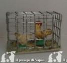 Gabbietta di metallo con animali (assortiti) cm2.5 x l cm 4 x p cm 2