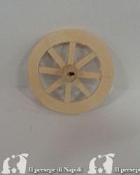 Ruota in legno diametro cm 5.5