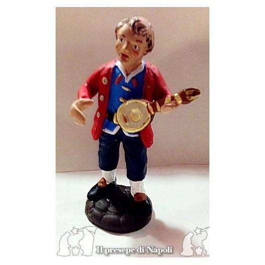 uomo con mandolino