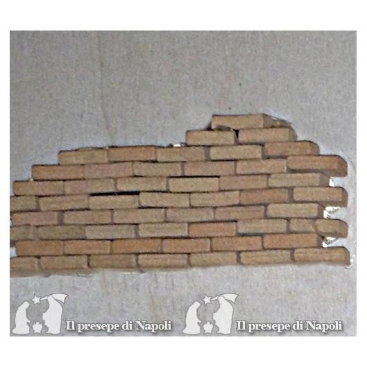 Mattoni di terracotta conf 50 pezzi ( piccoli)