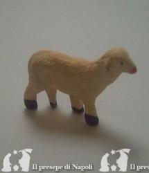 pecora con testa alzataper pastore cm 3.5 - 4