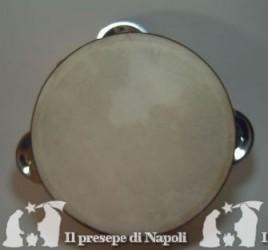 tamburella napoletana non dipinta dm cm 17,5 circa
