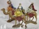 Tris re magi a cammello