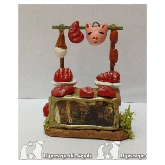 Bancarella con carne