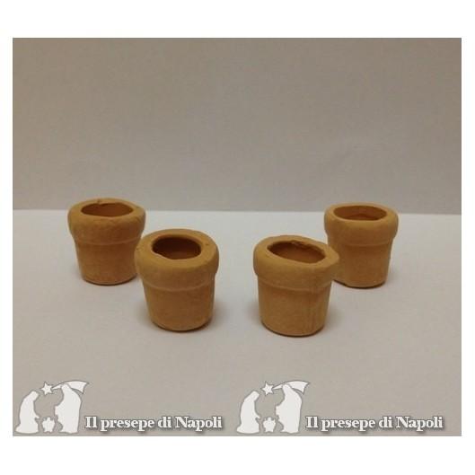 vasi terracotta cadauno