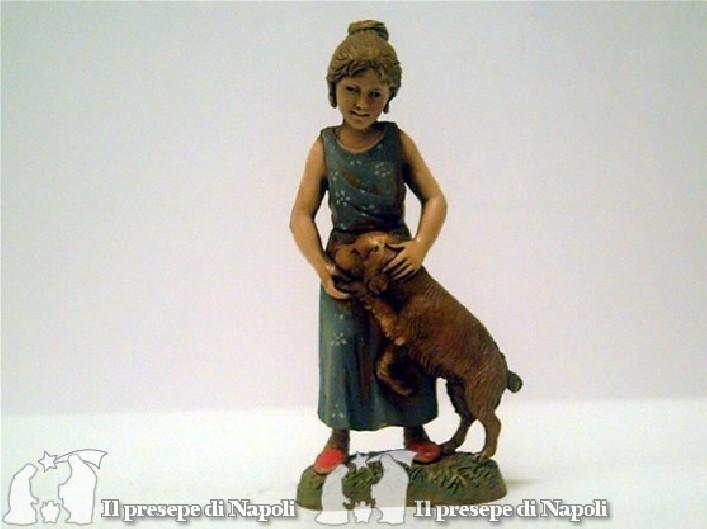 Bambina con cane