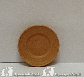 piatto in terracotta d cm 2