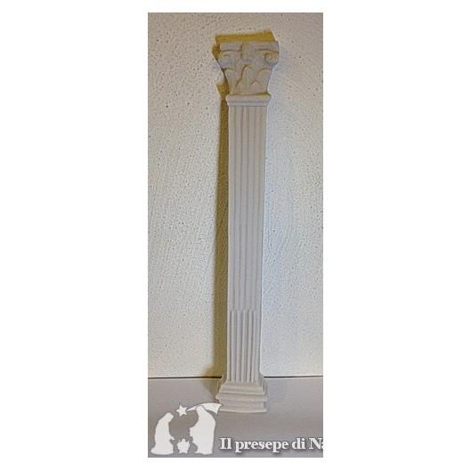 Colonna piatta di resina cm 40