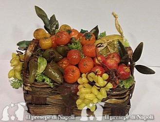 cesto con frutta per pastori cm 30 (grande)