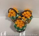 cesto di vimini con arance (cadauno)