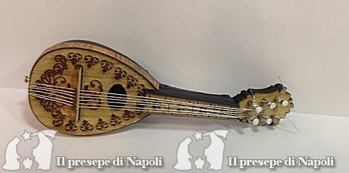 mandolino medio con decoro lungh. cm 10,5