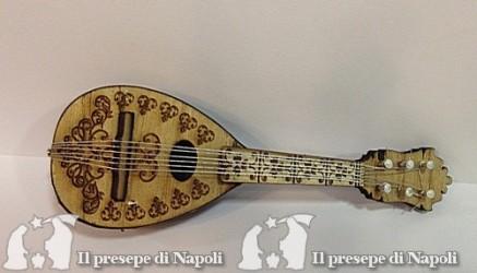 mandolino grande con decoro lung. cm 12 circa