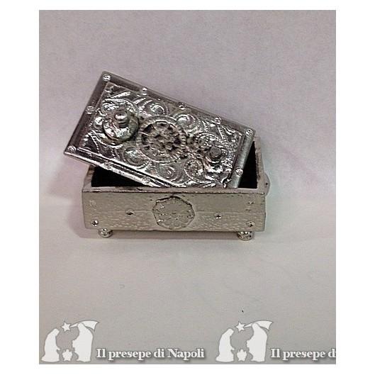 forziere grande argento