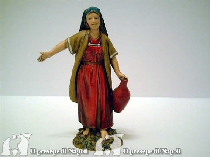 Donna con brocca in mano