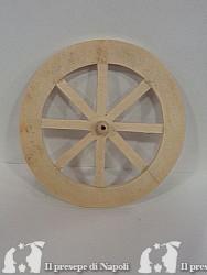 Ruota in legno diametro cm 13
