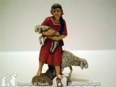 Ragazzo con due pecore