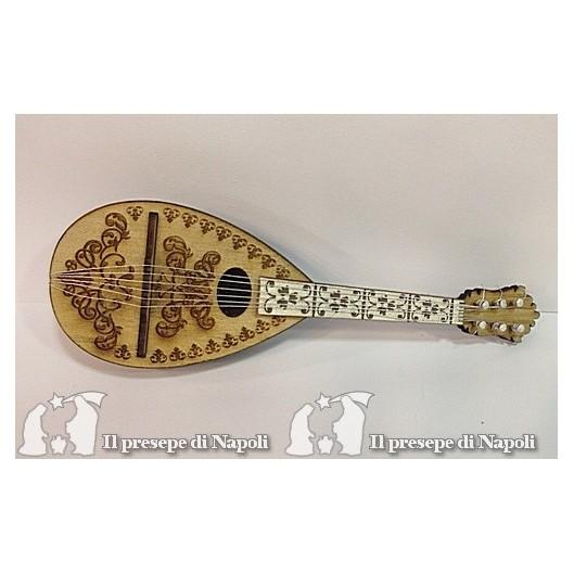 mandolino con decoro lungh cm 16,5 circa