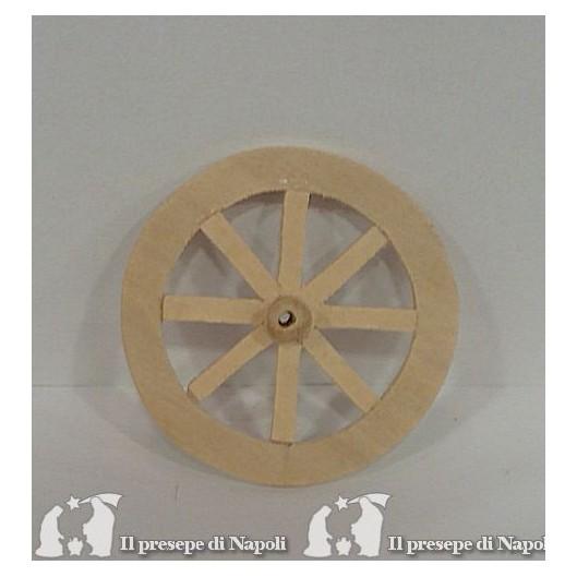 Ruota in legno diametro cm 8