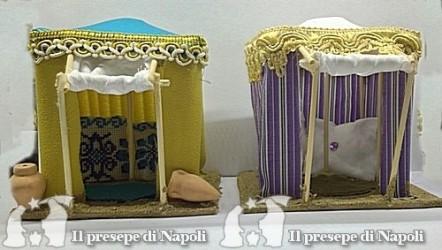 Tenda araba per pastori cm 6-6,5 (vari colori)