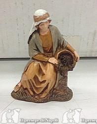 personaggio con cesta