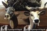coppia bue e asino x pastori cm 20