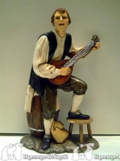 Ragazzo con mandolino