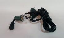 lampada fuoco con filo e spina (piccola)
