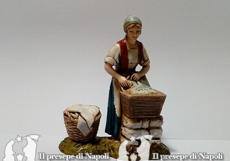 Lavandaia - Il presepe di Napoli