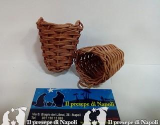 cesto conico con maniche