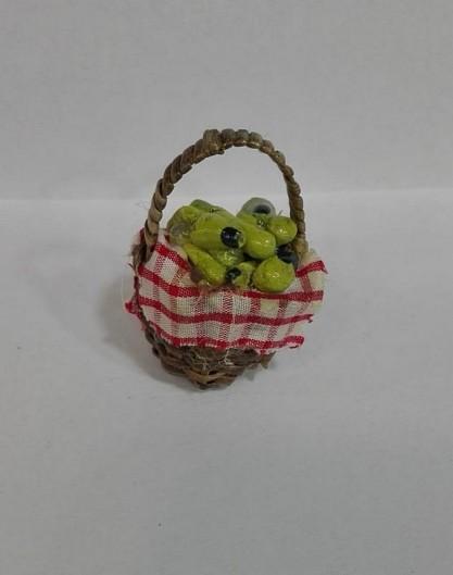cesto di vimini pere (cadauno)