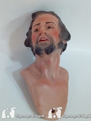 uomo con barba grigia (testa colorata)