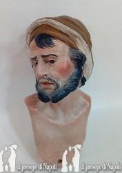 pastore  con cappello (testa colorata)