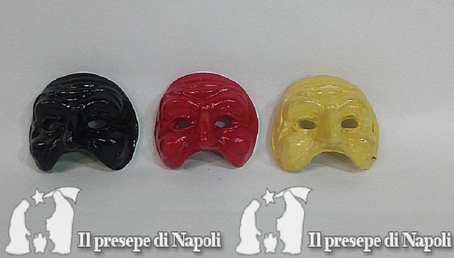 maschere piuccole di pulcinella (vari colori)