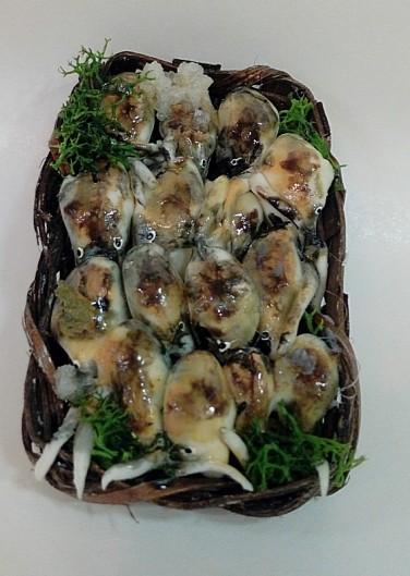 Cesta di calamari per  pastori cm 30-35