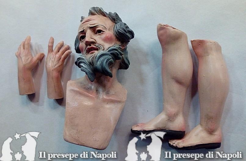 Kit testa mani e piedi Giuseppe (cm 40)