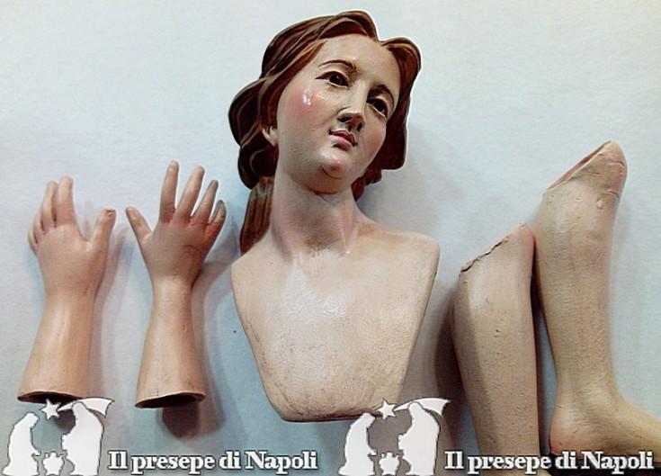 Kit testa mani e piedi Maria (cm 40)