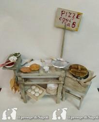 banco venditore di pizze 2 pezzi